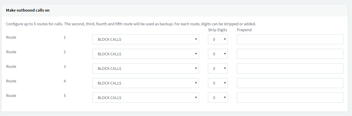 How to set multiple outbound call routes - 3CX V15 5