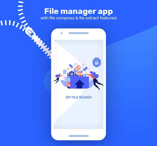 Zip & Unzip Files - Zip File Reader 1.0.0 screenshots 1