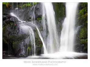 Photo: #WaterfallWednesday  Posforth Gill Waterfall  Here's a shot for Waterfall Wednesday curated by +Eric Leslie, taken on a visit to the Valley of Desolation near Bolton Abbey with +Jason Theaker earlier this week.  I really like this waterfall in Posforth Gill but have always found it quite tricky to photograph, maybe because of the very dark rocks around it, but I'm fairly happy with this effort, with the moss adding a touch of colour. I've often imagined these falls surrounded by glorious autumn colour (there are a few trees around it) but it never seems to work out that way! Maybe next year...  Canon EOS 5D, 24-105mm at 105mm, ISO 50, 1.3s at f22