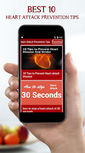 Best 10 Heart Attack Prevention Tips - náhled