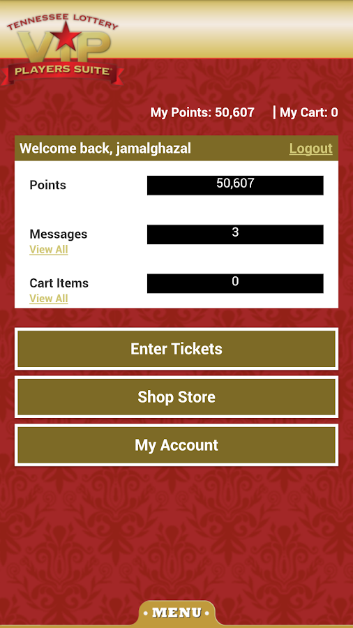 details winning instant tickets eligible lucke rewards points