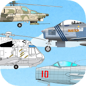 Fighter aircraft - kids app