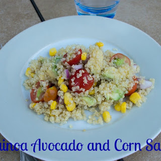 Quinoa Avocado and Corn Salad