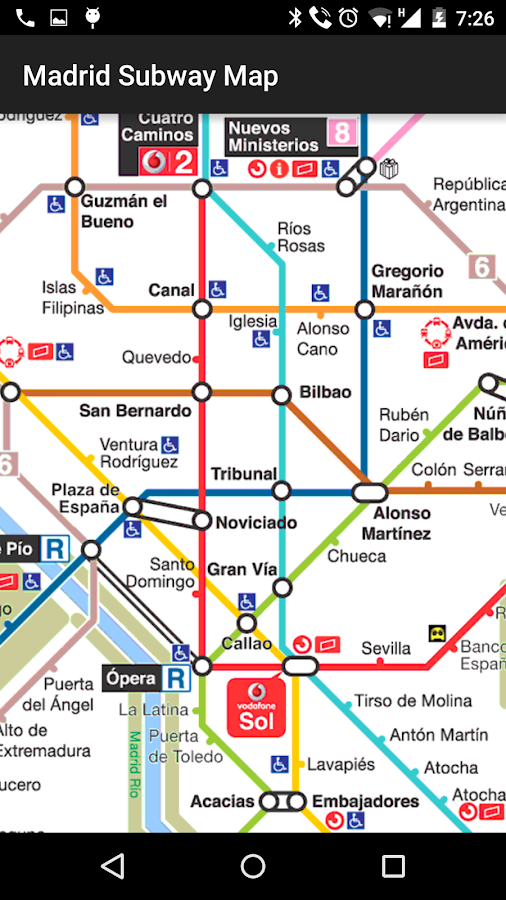 Madrid Subway Map Android Apps On Google Play - Argentina subway map