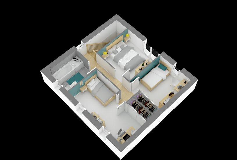 Vente Terrain + Maison - Terrain : 200m² - Maison : 86m² à Achères (78260)