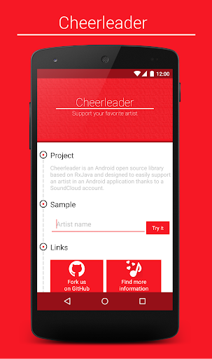 Cheerleader music player