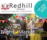 Night Market & Community Table : Redhill School