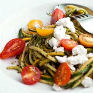 Pasta Salad With Zucchini And Summer Squash