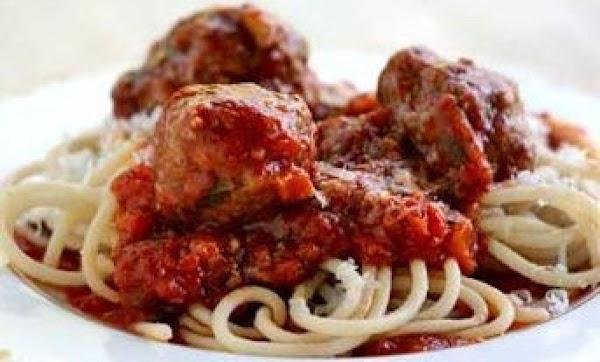 Spaghetti & Beef Porcupines Recipe