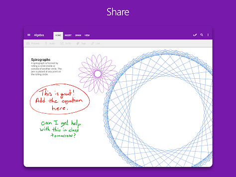 OneNote APK screenshot thumbnail 8