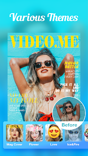 Video.me - Video Editor, Video Maker, Effects Screenshot