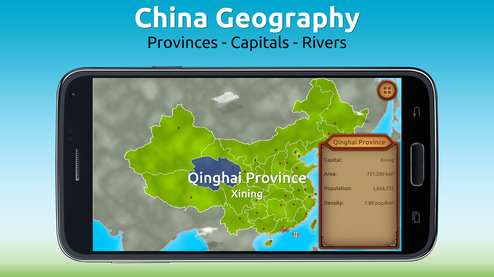 GeoExpert - China Geography- screenshot