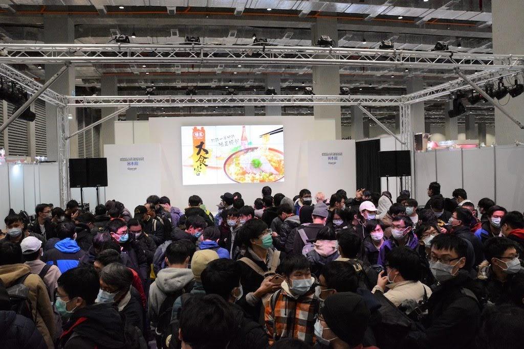 2020動漫 ICHIBAN JAPAN日本館 不畏寒流疫情 開館首日猛灌爆量人潮瘋搶周邊
