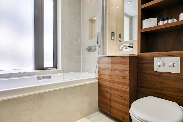 Bathroom at Aston House Serviced Apartments