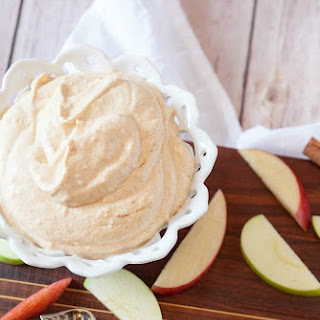 Coconut Pumpkin Pie Dip (Healthy, Low Calorie, Low Fat).