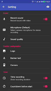 Screen Recorder 1.3.8 Mod + Data Download 3