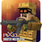 Mad Battle Gun Pixel Shooter Multiplayer 3D Icon