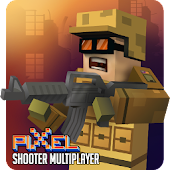 Mad Battle Gun Pixel Shooter Multiplayer 3D