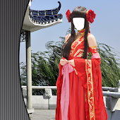 Chinese Dress Photo Camera