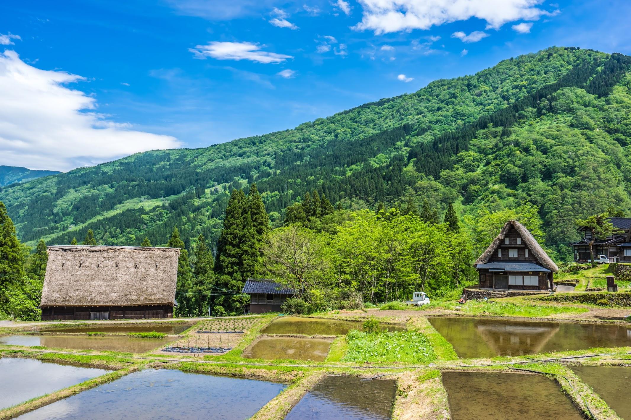 Gokayama Ainokura Gassho-zukuri Village1