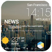 Beautiful News Weather Widget