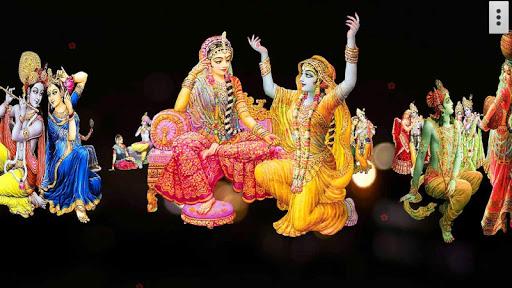 4D Radha Krishna LiveWallpaper