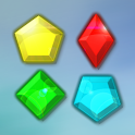 Jewels - A free colorful logic tab game icon