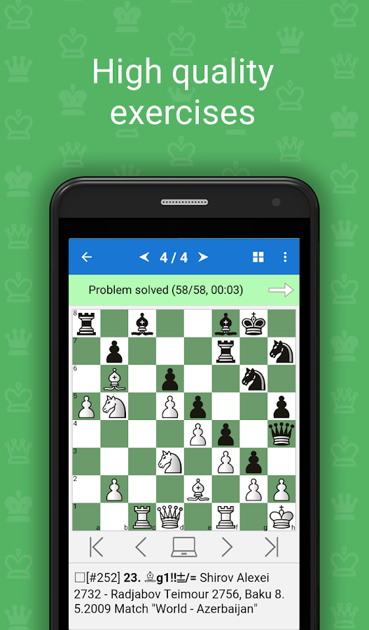 Simple Defense (Chess Puzzles)- screenshot