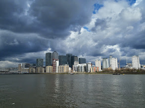Photo: London in the clouds