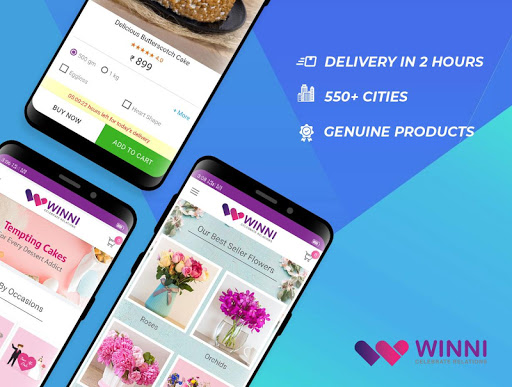 Winni - Cake, Flowers & Gifts Delivery India 3.16.0.1 screenshots 1