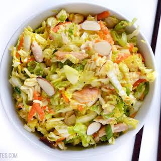 Crunchy Chinese Chicken Salad.