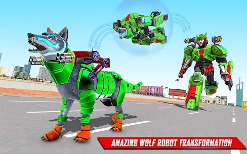 Wolf Robot Transforming Games – Robot Car Games 3
