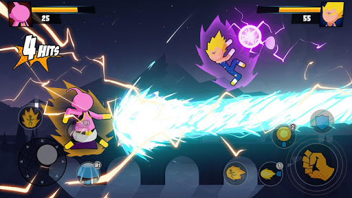 Super Dragon Stickman Battle - Warriors Fight screenshots 5