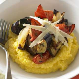 Soft Polenta with Ratatouille