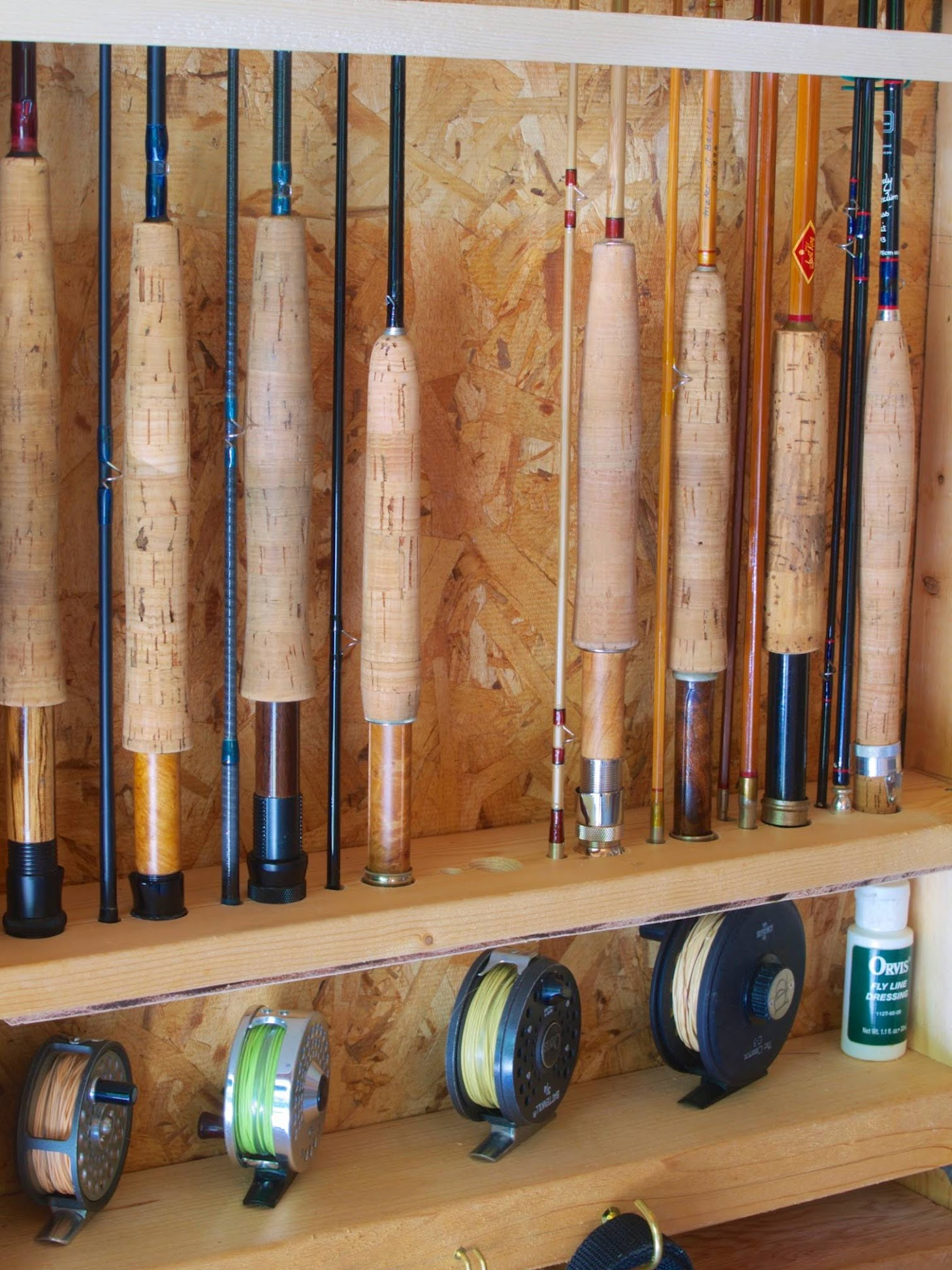 Fly Rod Holder