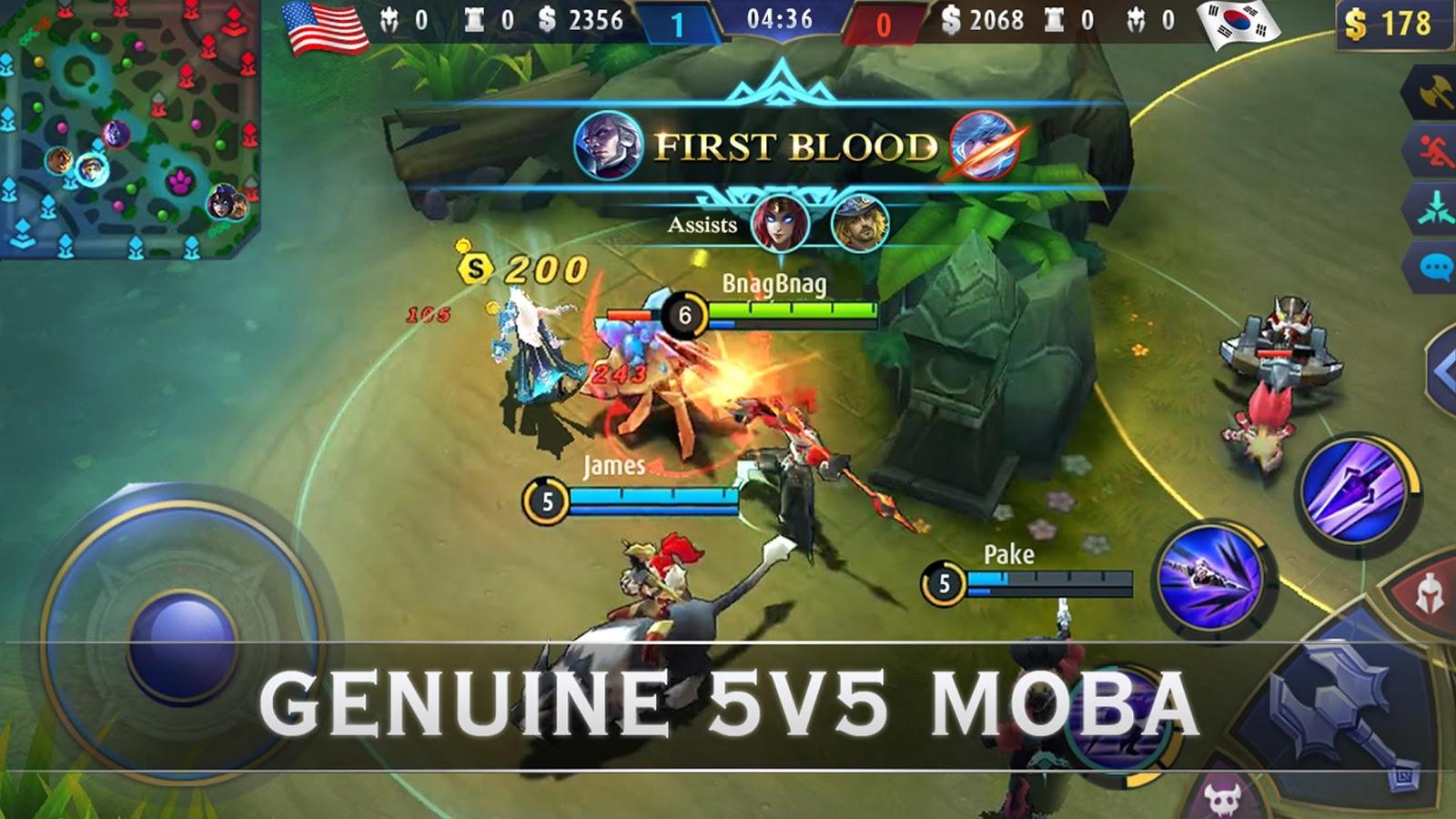 Mobile Legends: Bang Bang- screenshot