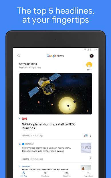 Google News: Top World & Local News Headlines screenshot 11