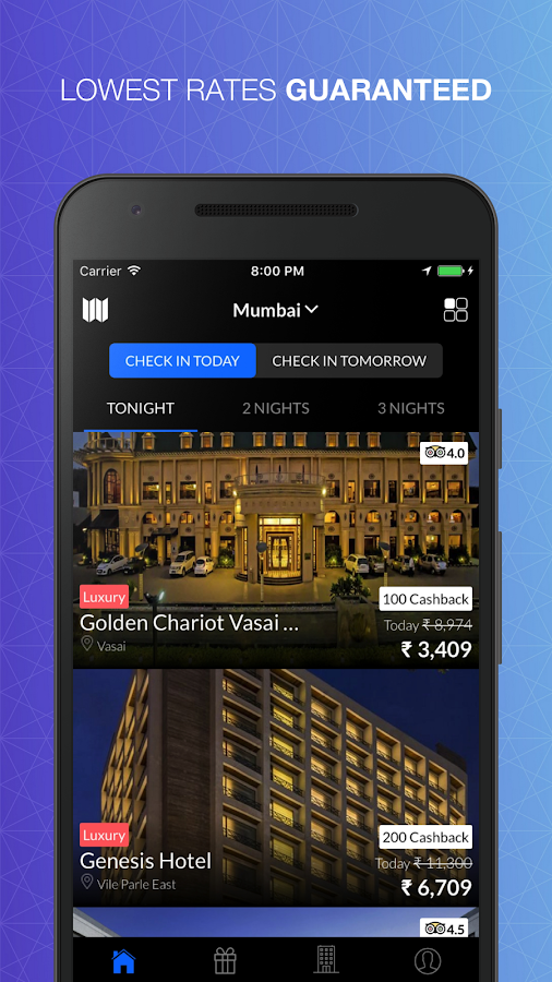 NightStay - Top Hotel Deals in India- screenshot