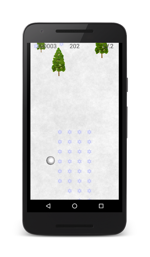 Snowball Man - Free Game App- screenshot