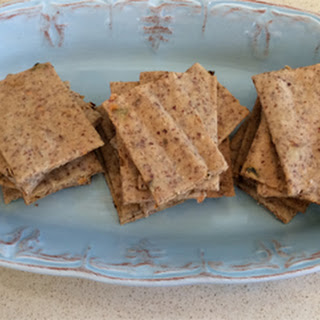 Spicy Paleo Crackers