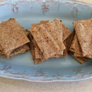 Spicy Paleo Crackers.