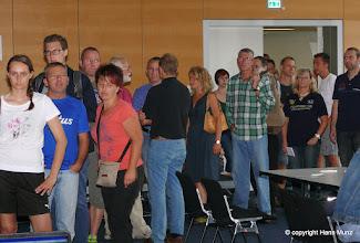 Photo: 8. Bäderlauf 2014 Startnummernabholung Rathaus Bad Aibling