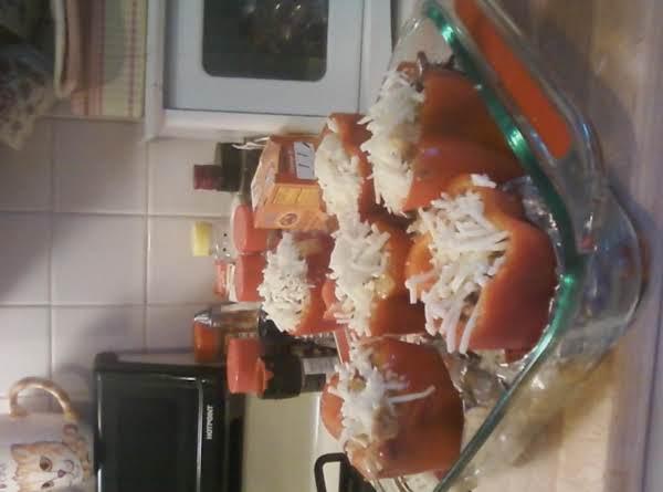 Chicken Fajitas Stuffed Red Peppers Recipe