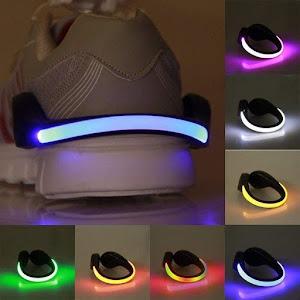 Set 2 x Clips cu LED pentru incaltaminte