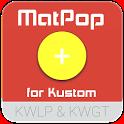 MatPop for Kustom KLWP/KWGT icon