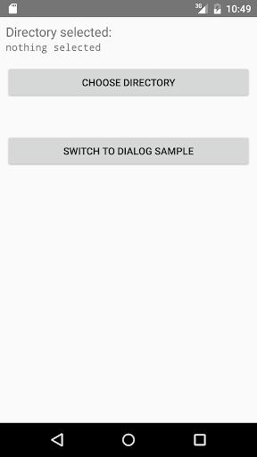 玩生產應用App|DirectoryChooser Sample免費|APP試玩