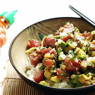 Ahi Tuna Poke Bowl Recipe