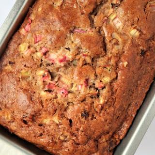 Cinnamon Rhubarb Bread Recipe