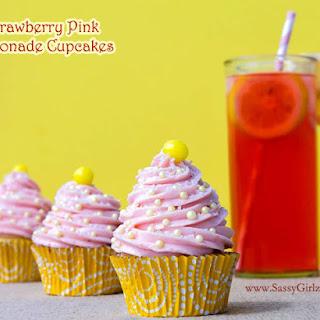 Strawberry Pink Lemonade Cupcakes Homemade Cupcake