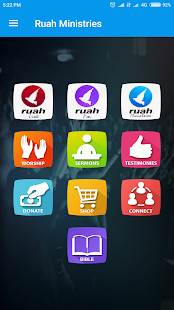 Ruah Ministries app - náhled